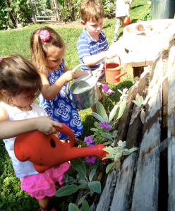 Gardening at CAST Preschool and Childcare Center